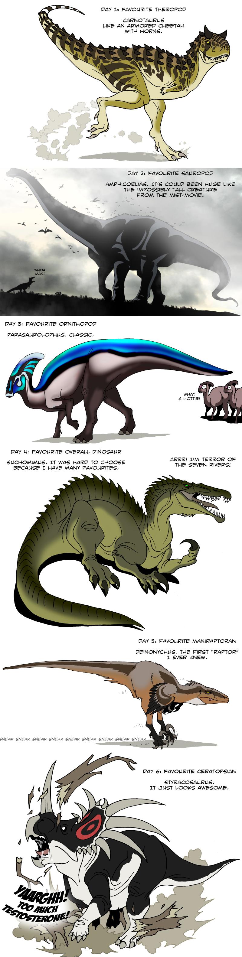 Dinosaur challenge 1