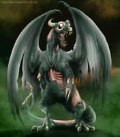 Undead Dragon by IsisMasshiro
