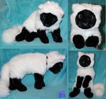 Fluffy cat-plushie
