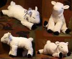Lamb-plushie FOR SALE