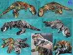 Tyrannosaurus-plushies SOLD