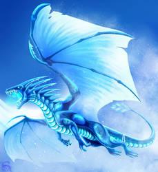 Ice dragon by IsisMasshiro
