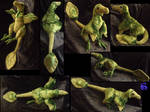 Feathered velociraptor-plushie SOLD