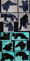 2 Cat-plushies FOR SALE