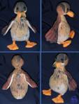 Mallard duck-plushie