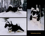 Husky-plushie