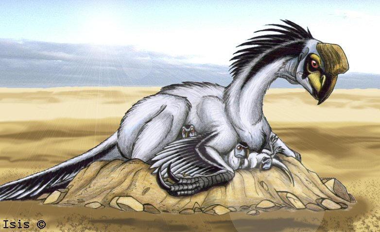 Oviraptor by IsisMasshiro