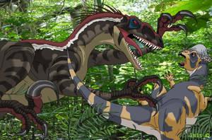 JP3 raptor by IsisMasshiro
