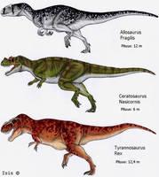 Large carnivores by IsisMasshiro