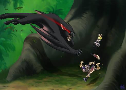 Monster Hunter - She's gonna eat me