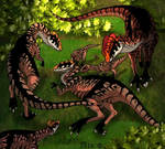 Dilophosaurs