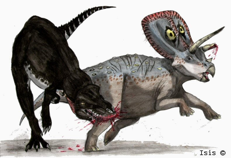 Walking with dinosaurs by IsisMasshiro