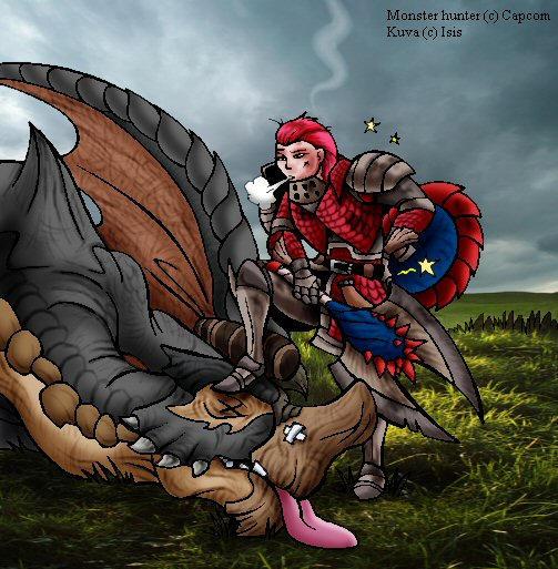 Monster hunter by IsisMasshiro