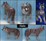 Halo-figurine by IsisMasshiro
