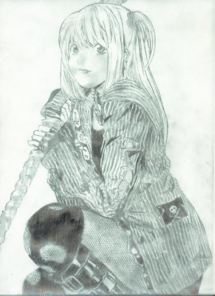 Amane Misa traced-on by DaNiRu-chan