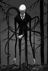 Slender man by MeumeuLee