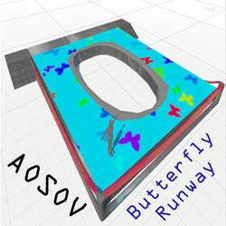 Butterfly Runway in Sinespace