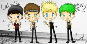 5 Seconds of Summer! (5SOS) by Candi-floss