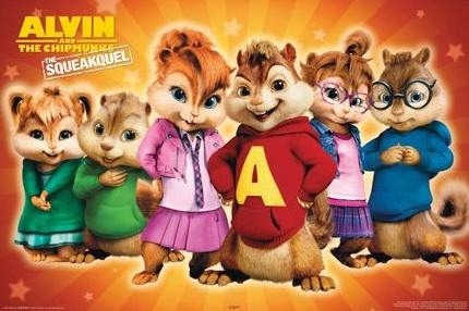 Alvin and the Chipmunks by Soraply11