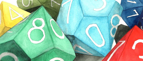 A Colorful Assortment of d10s by AjaxTelamoneis