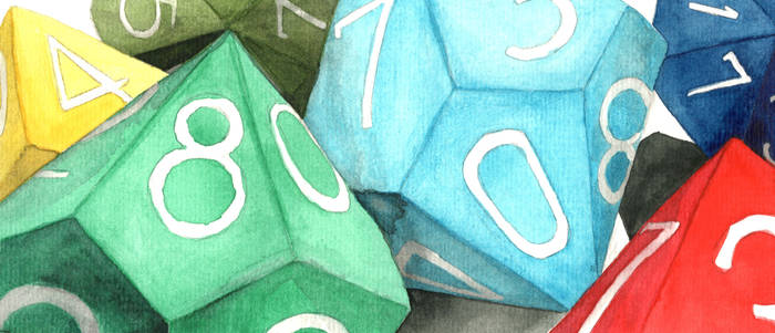 A Colorful Assortment of d10s