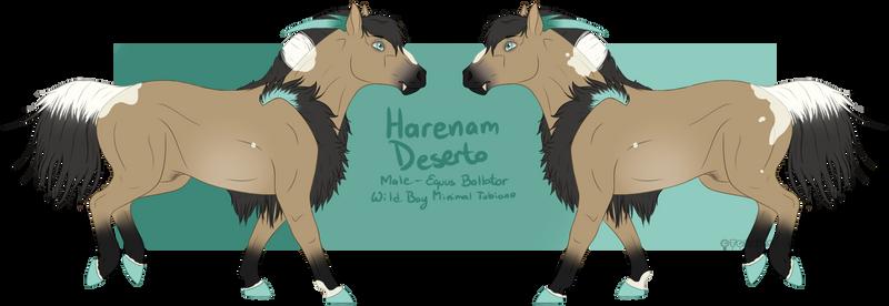 [REF] Harenam Deserto ID584