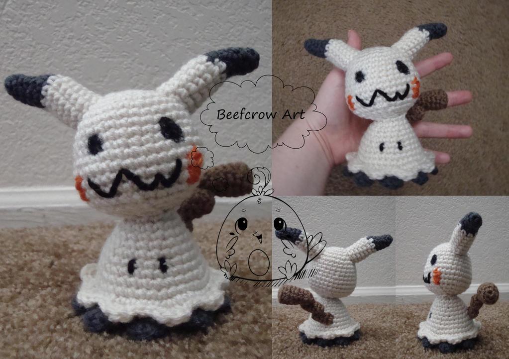 Amigurumi Forum Net : Mimikyu amigurumi by beefcrow on deviantart