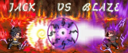 Jack VS Blaze Firma01 by Sasuderuto
