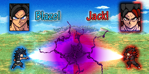 Jack vs Blaze scene01 by Sasuderuto