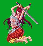 BAEsic Pixel - Erza Scarlet by Sasuderuto