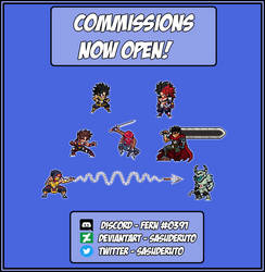 Commissions Open! - Comisiones Abiertas!