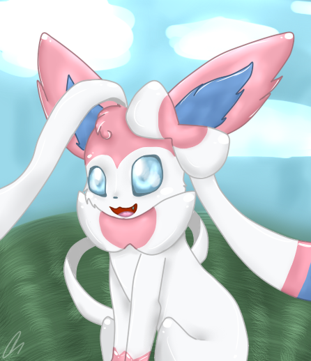 Some of my drawings. Sylveon_by_xciara_goes_rawrx-d83y0d5