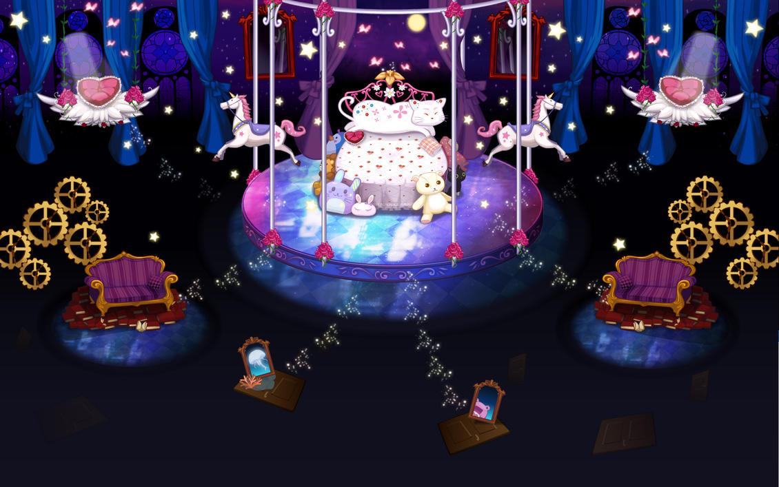 Background - Theme Lolita Room by cielociel