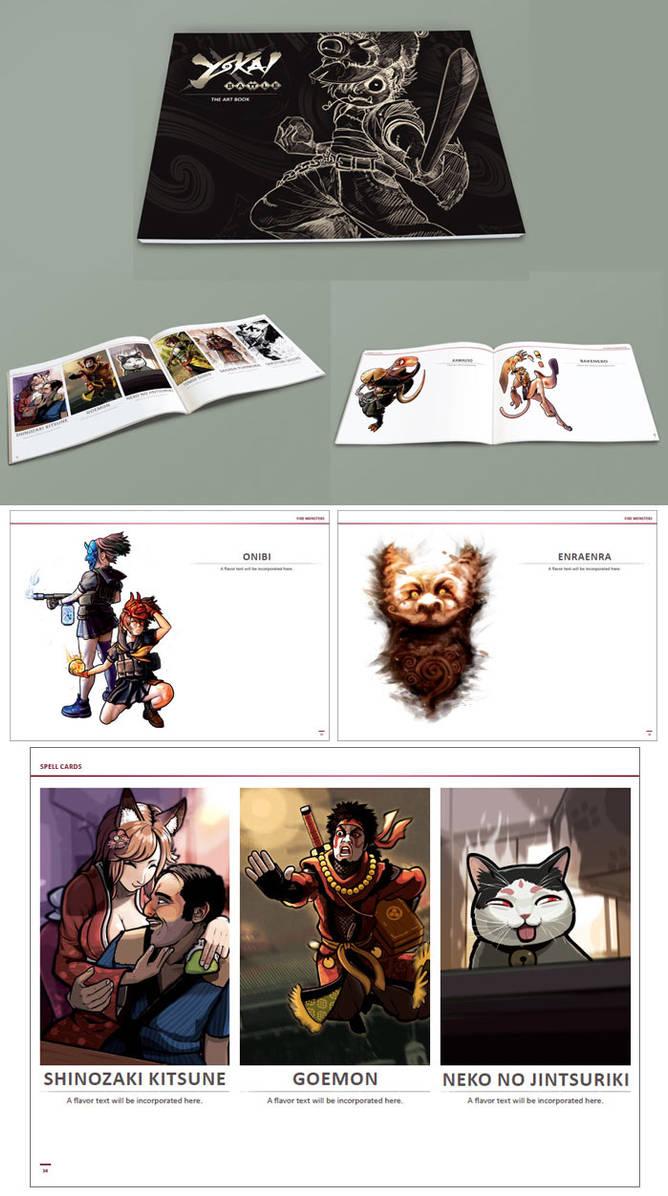 Yokai Battle - Artbook preview