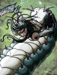 Yokai - Okiku Mushi