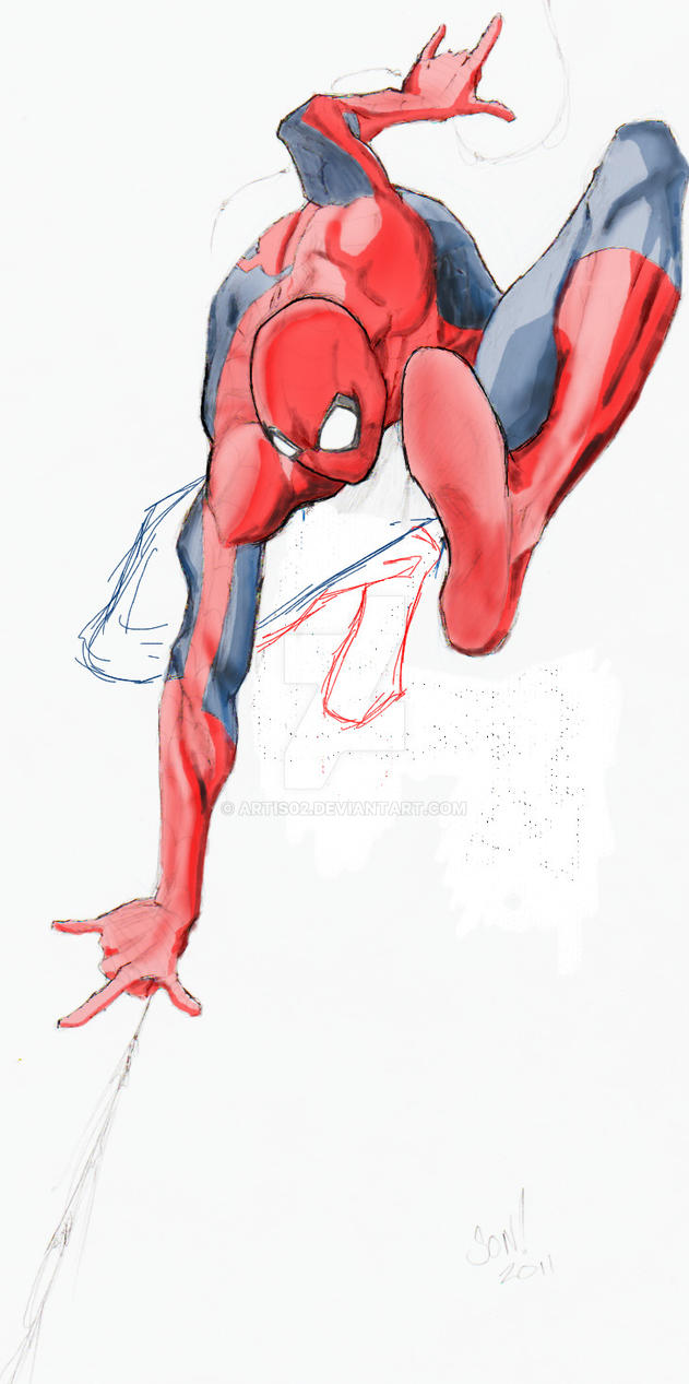 Your friendly neighborhood Spider-Man by ARTIS02