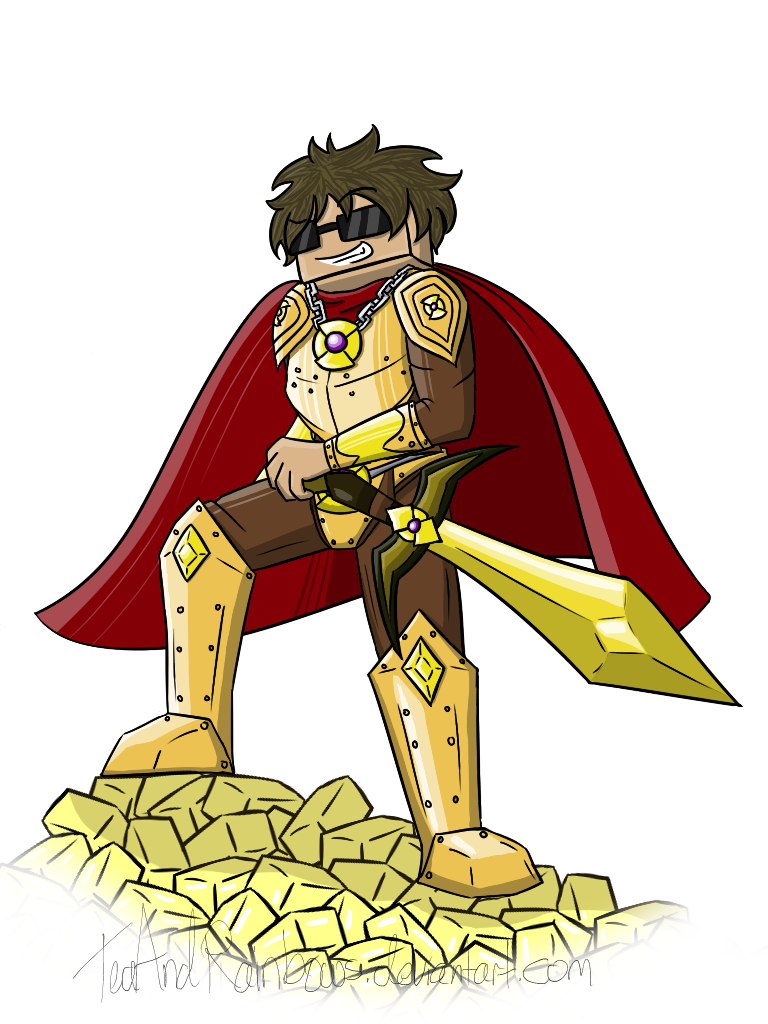 The Almighty Butter Knight by TeaAndRainbows