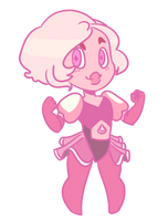 Pink Diamond by bluebellthegreat