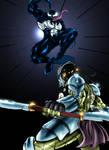 Venom Vs. Predator color