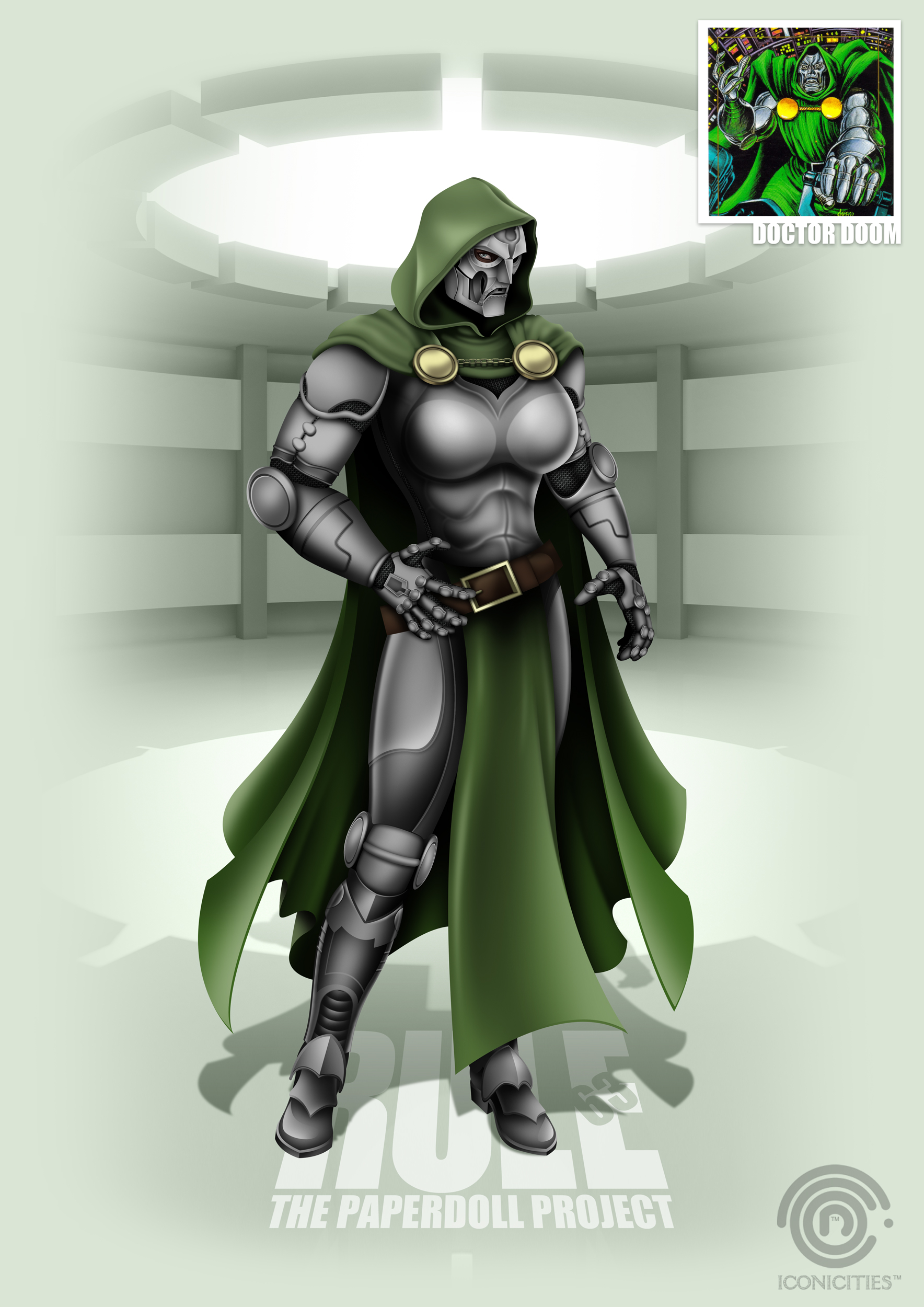 RULE 63 TPP - Doctor Doom by carlosandisabel