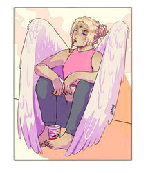 Angel Dude by Broppi