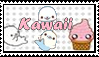 Kawaii stamp by zenzatsionen