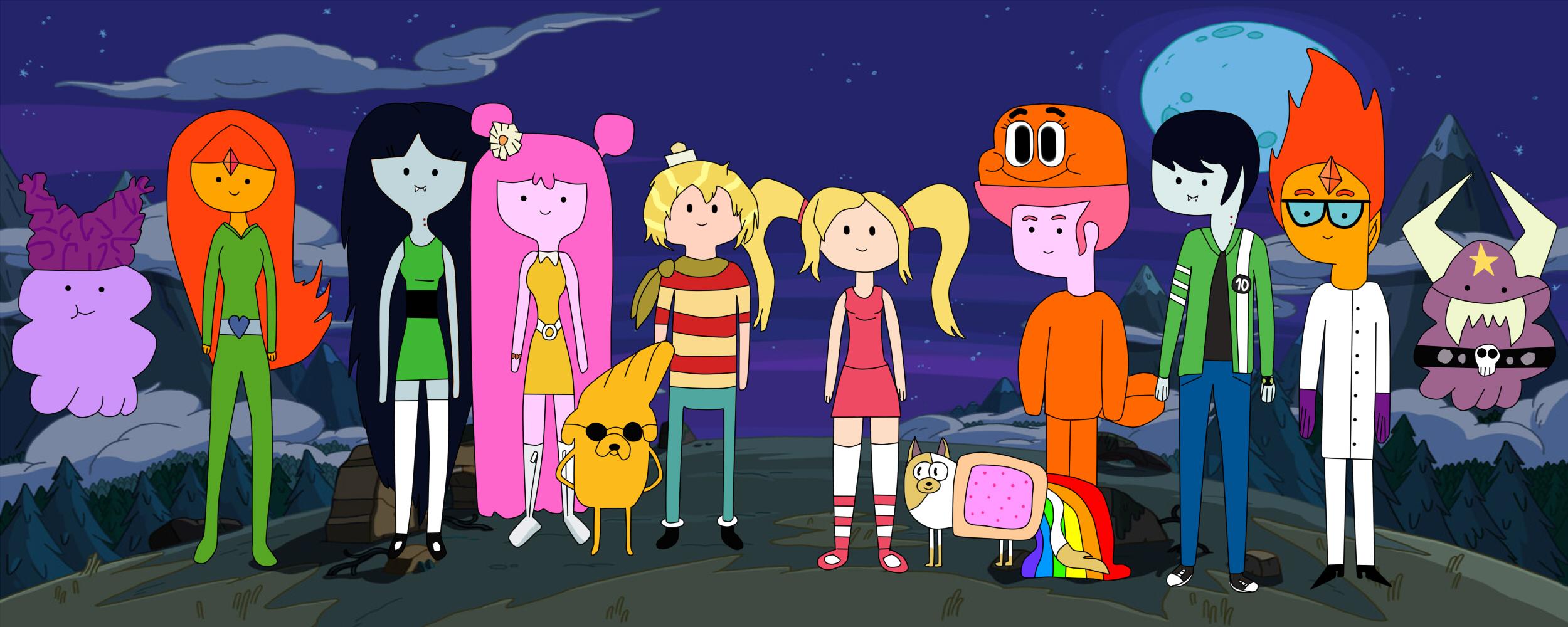 Adventure time - Halloween by zenzatsionen on DeviantArt