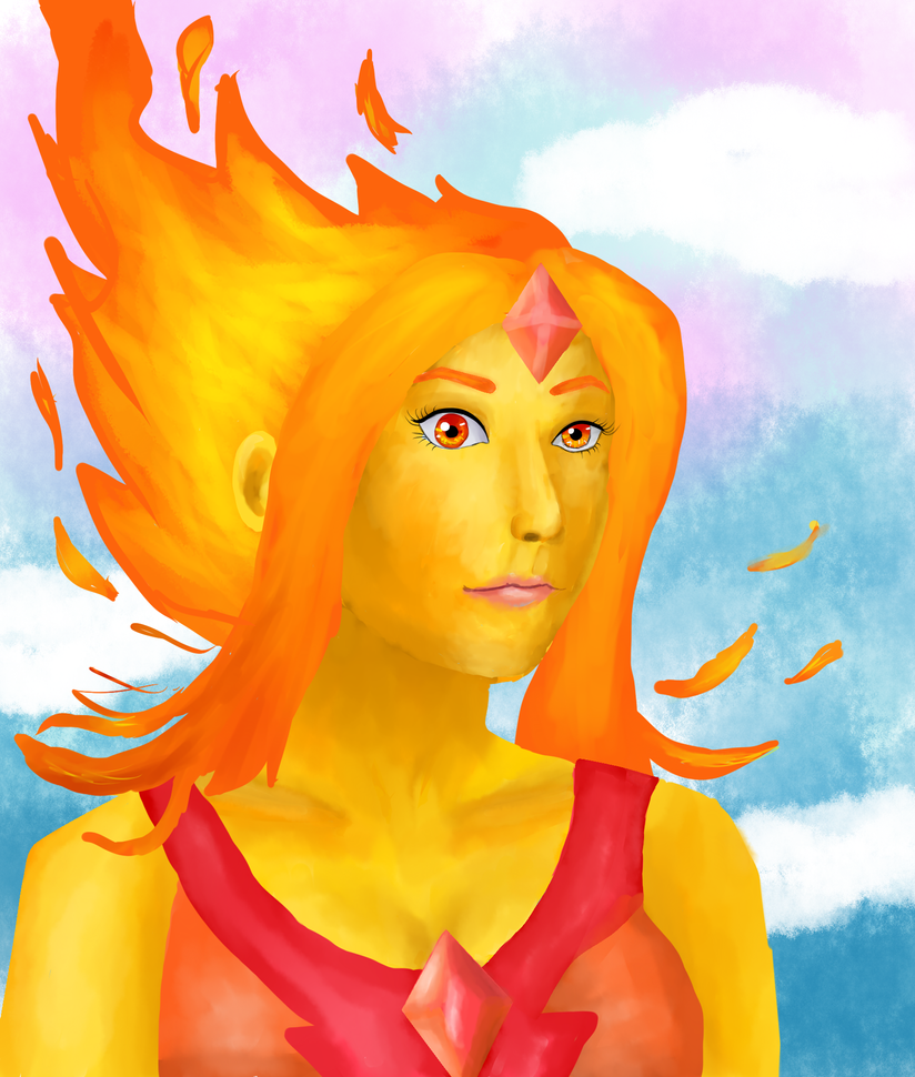 Flame Princess by zenzatsionen