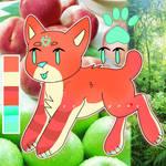 Peaches N Apples (OTA ADOPT - OPEN!) by qalaxydoq