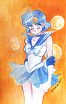 Sailor Mercury Watercolour Practice