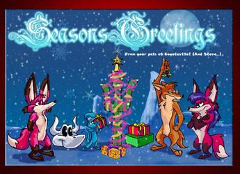 Seasons Greetings 2009 by arsdraconis