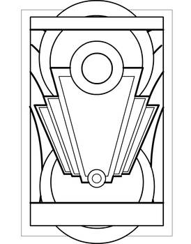 Art Deco Background