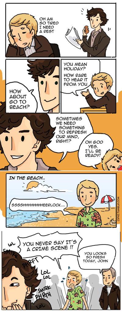 Trolling Sherlock by ciphz