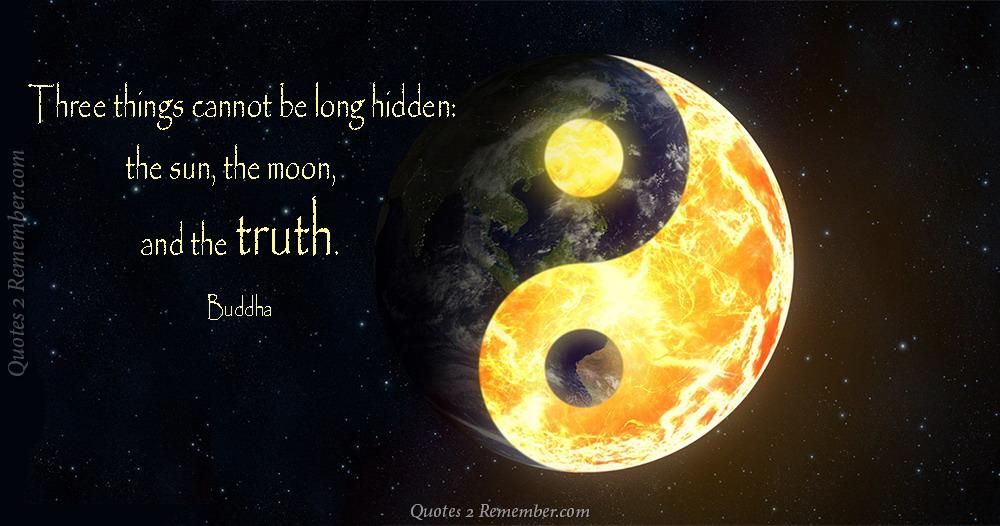 Sun Moon Truth Buddha Quote By Thestarlightprincess On Deviantart